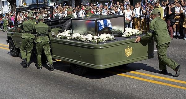Fidel Castro, exequias
