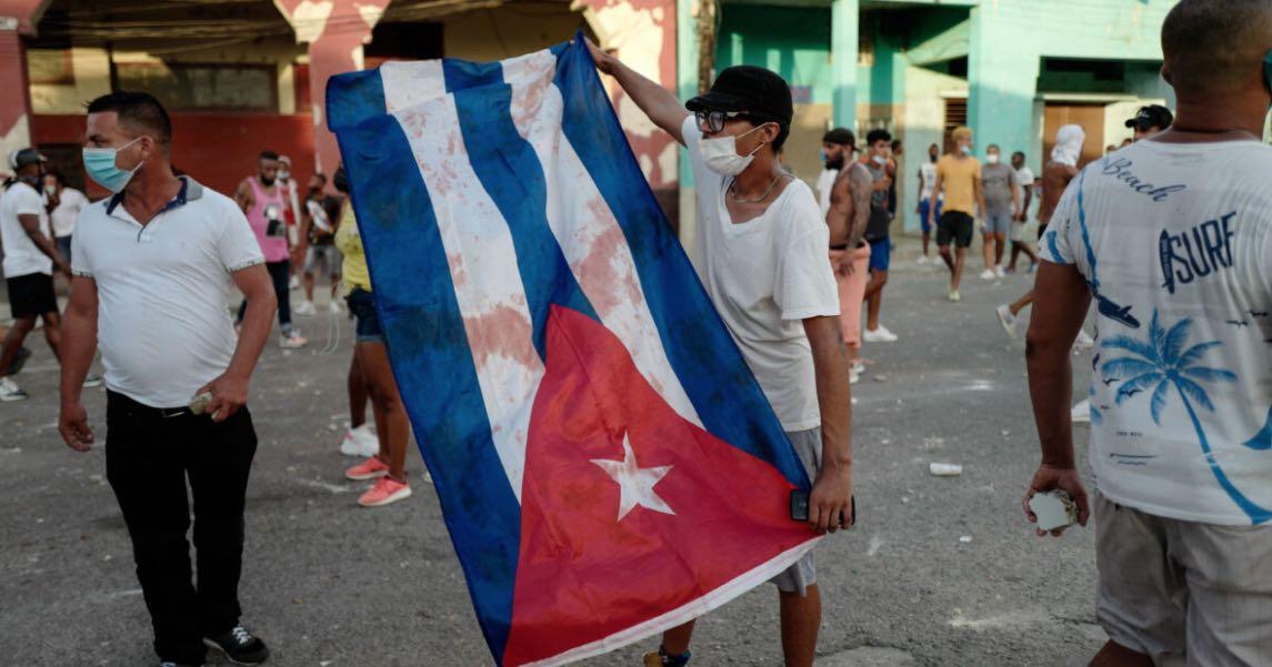 Cuba, Manifestaciones en Cuba, Protestas contra el comunismo, Díaz-Canel