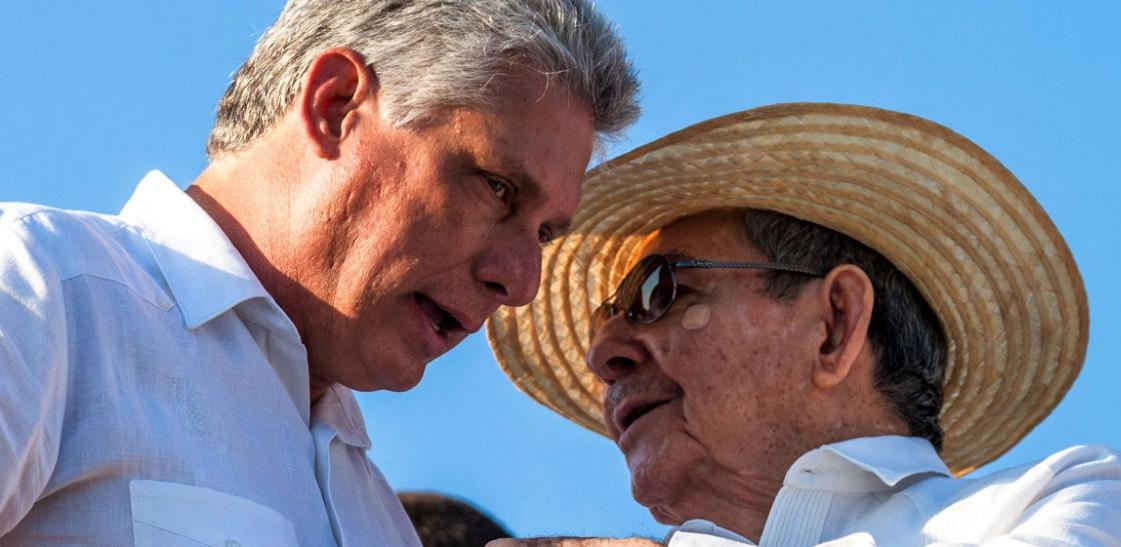 Miguel Díaz-Canel, Raúl Castro, Dictadura castrista