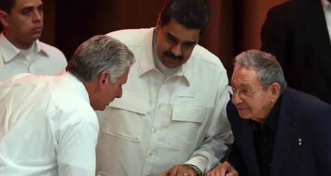 Cuba, Terrorismo, Díaz-Canel, Raúl Castro, Nicolás Maduro