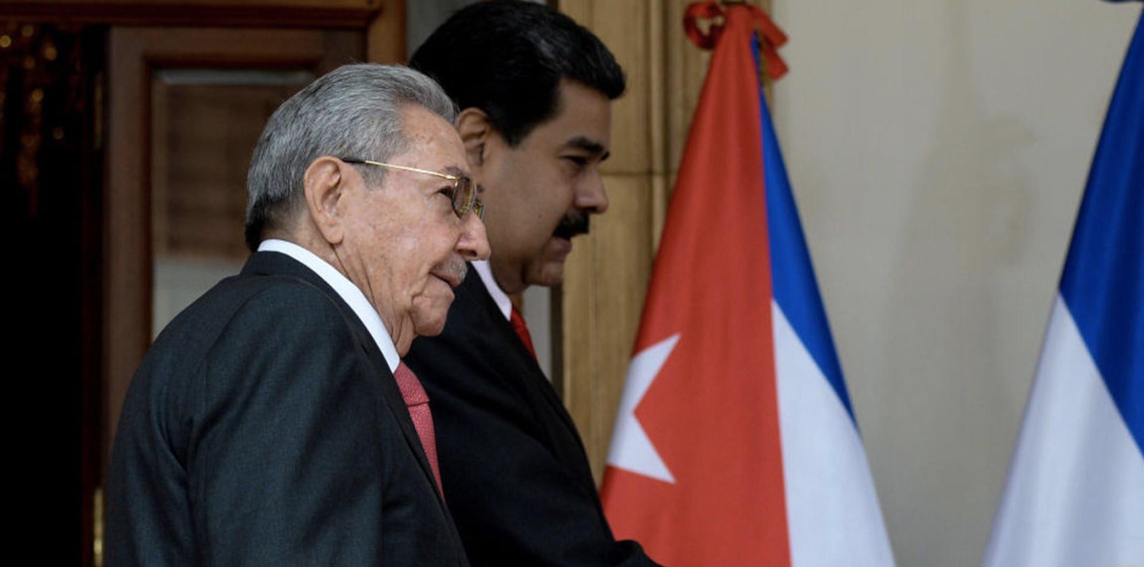 Raúl Castro, Nicolás Maduro