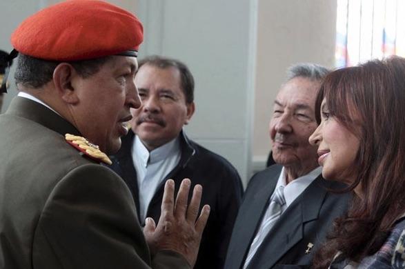Daniel Ortega, Cristina Kirchner