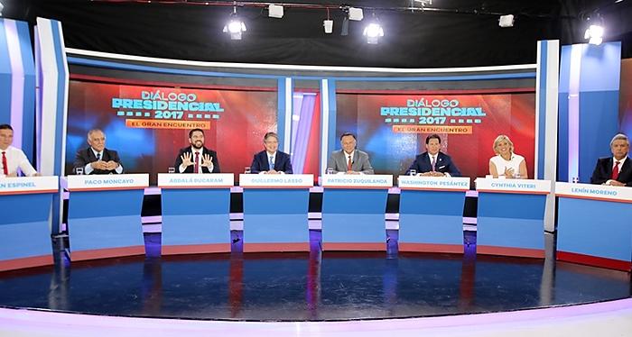 Ecuador, debate presidencial
