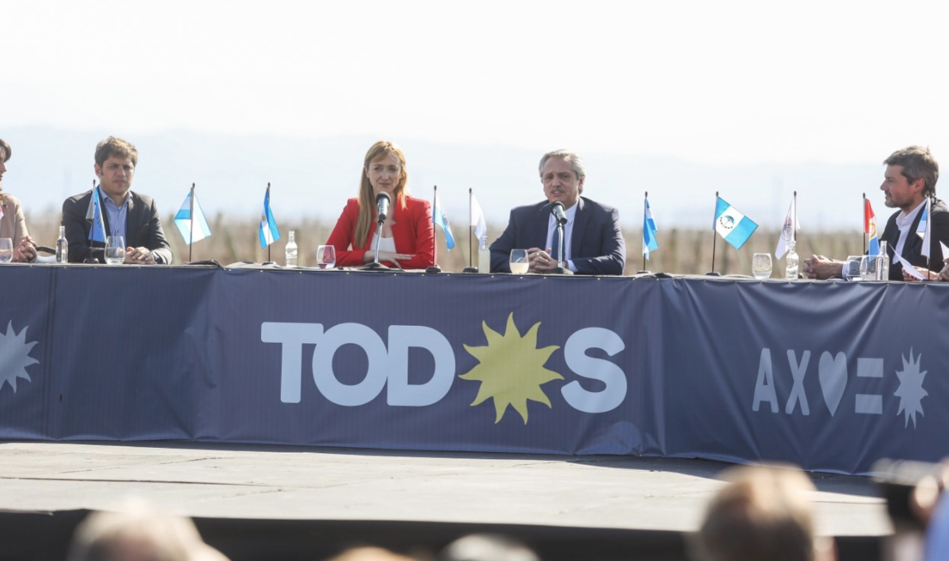 Alberto Fernández en Mendoza