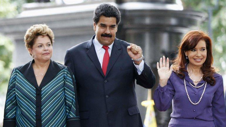 Dilma, Cristina, Nicolás