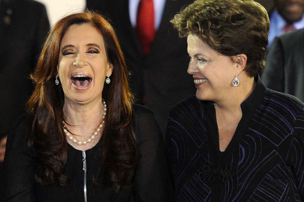 Dilma y CFK