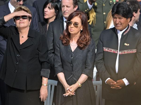 Dilma, Evo, Cristina