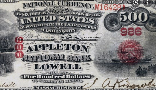 Dólar, Appleton, Lowell