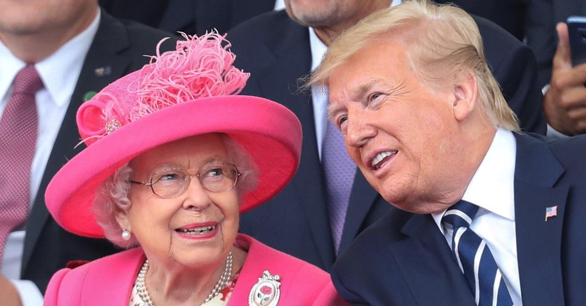 Donald Trump, Elizabeth II, Reino Unido