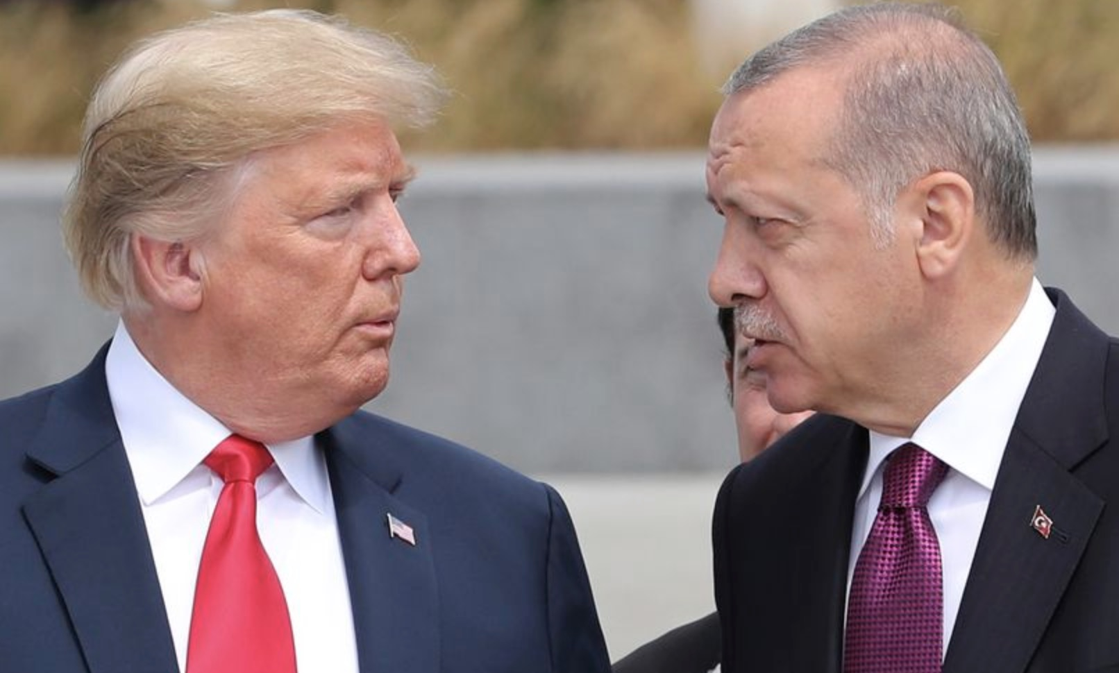 Donald Trump y Recep Tayyip Erdogan
