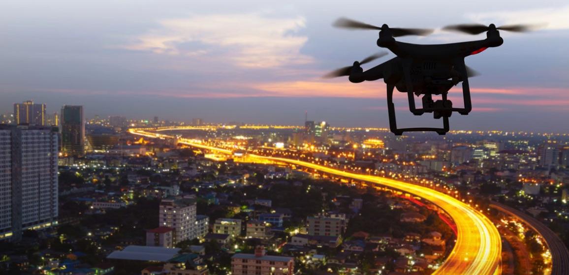 Seguridad urbana y drones