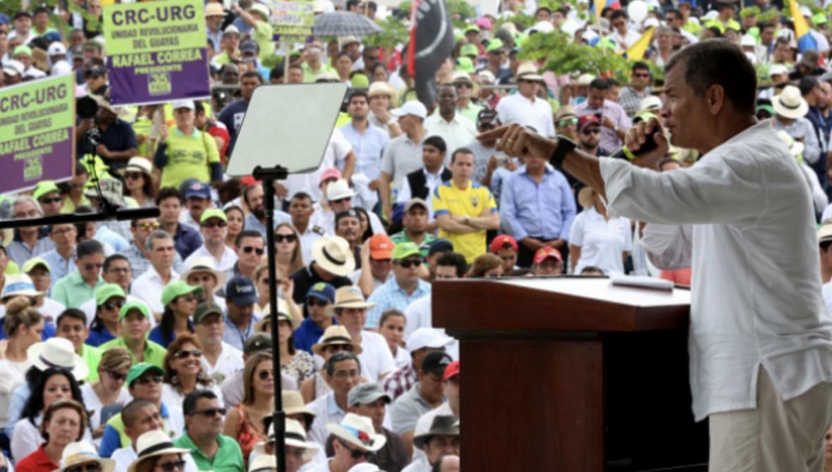 Rafael Correa, CRCs