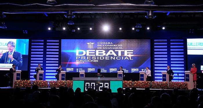 Debate, Ecuador