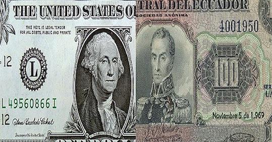 Ecuador, dólar, moneda