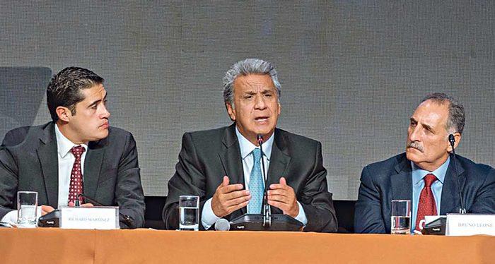 Ecuador, equipo económico