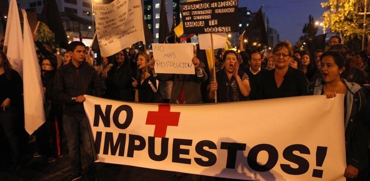 Ecuador, marchas