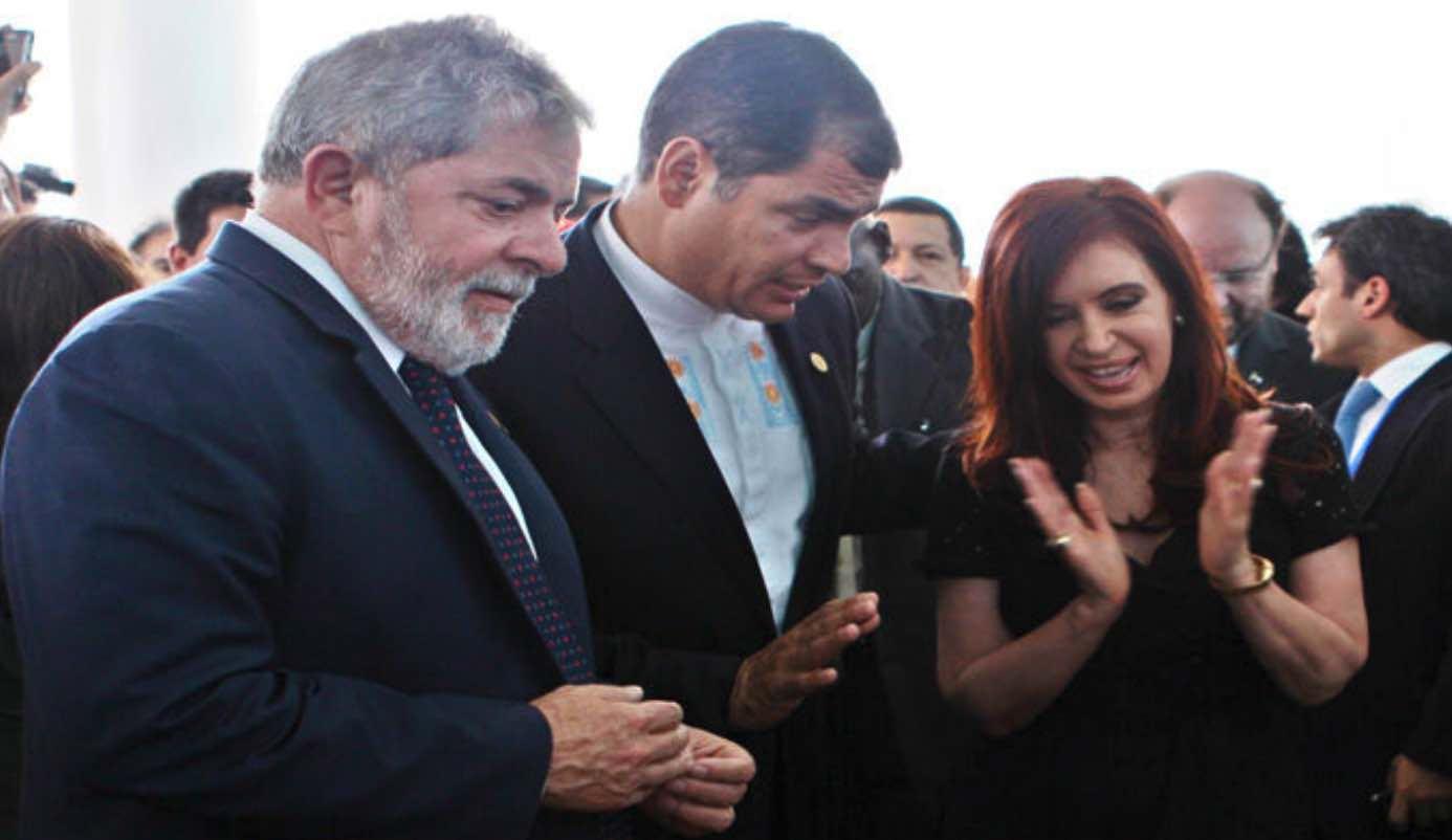 Rafael Correa, Corrupción en Ecuador, Cato, Oscar del Brutto