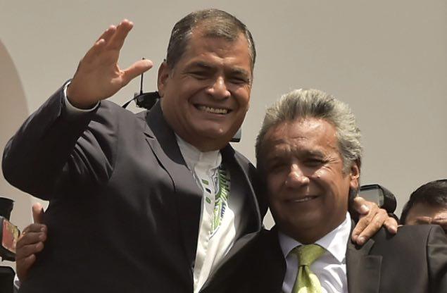 Ecuador, Rafael Correa, Lenín Moreno, Crimen organizado transnacional