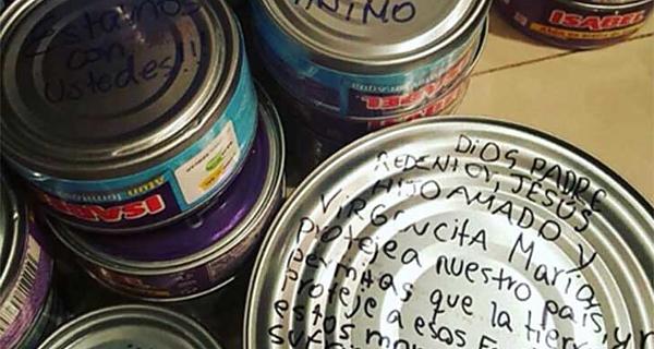 Donaciones, Ecuador, terremoto