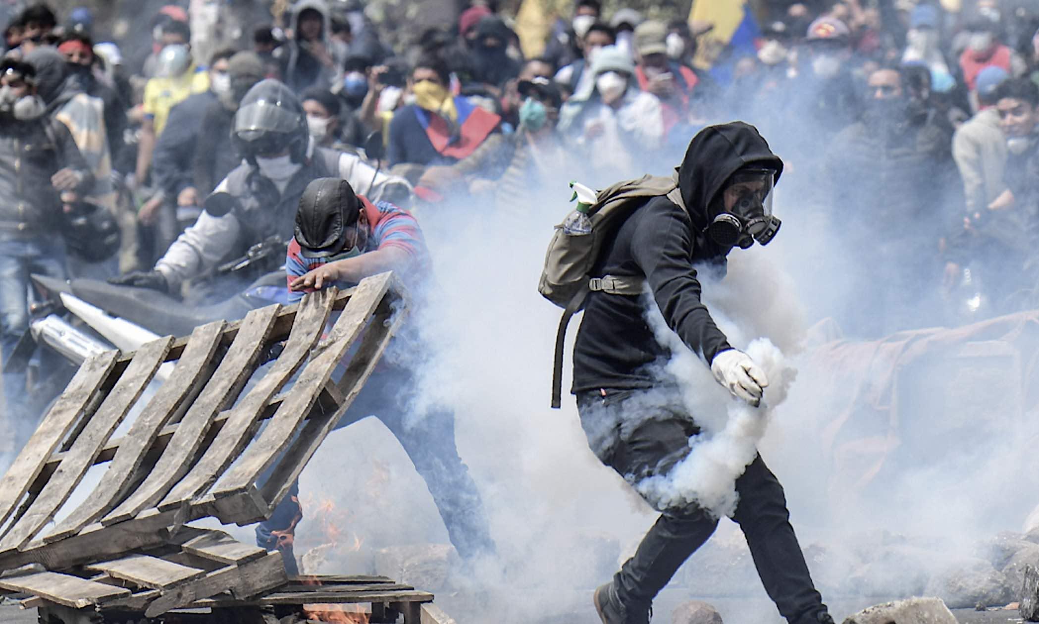 Ecuador, violencia indigenista, CONAIE, Rafael Correa, Chavismo