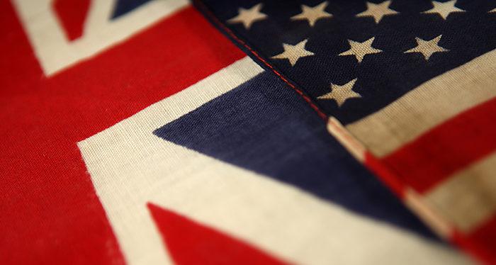 Gran Bretaña, Estados Unidos, Acuerdo de libre comercio