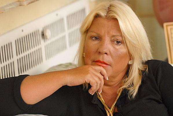 Tras amenazas, refuerzan la custodia de Elisa Carrió