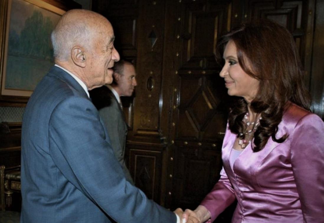 Cristina Kirchner, Enrique Eskenazi