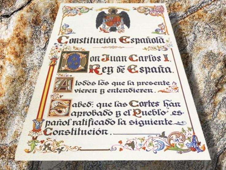España, Constitución