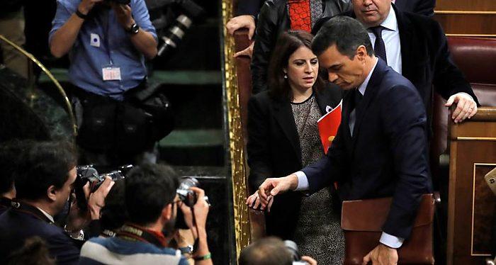 Pedro Sánchez, PSOE, Política española