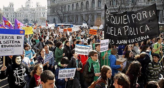 España, protestas
