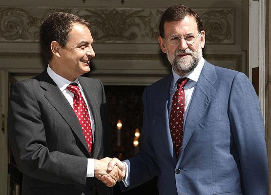 Zapatero, Rajoy