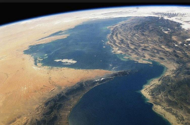 Estrecho de Hormuz, Golfo Pérsico