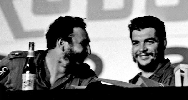 Fidel y Ernesto Guevara De la Serna