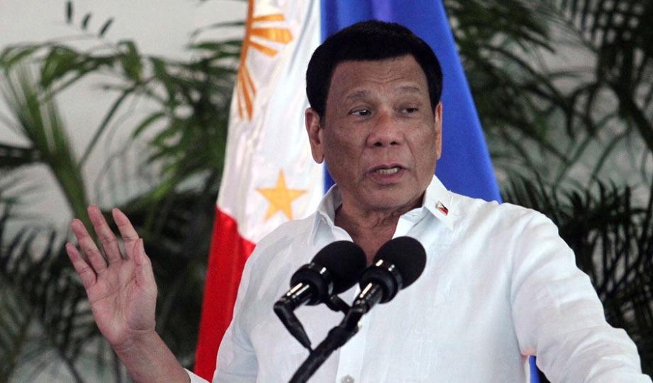 Rodrigo Duterte, Filipinas