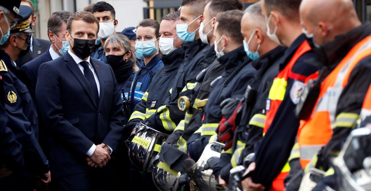 Emmanuel Macron, Francia, Atentados terroristas en Francia, París