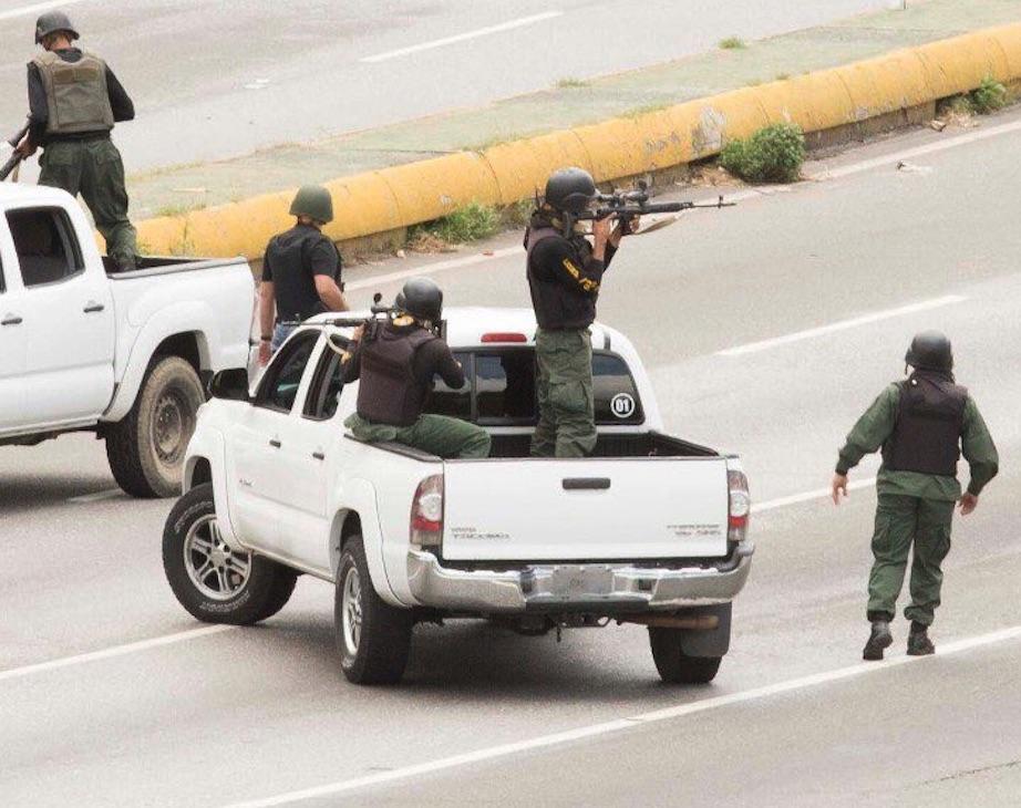 Francotirador, GNB, Venezuela, Ejecuciones extrajudiciales