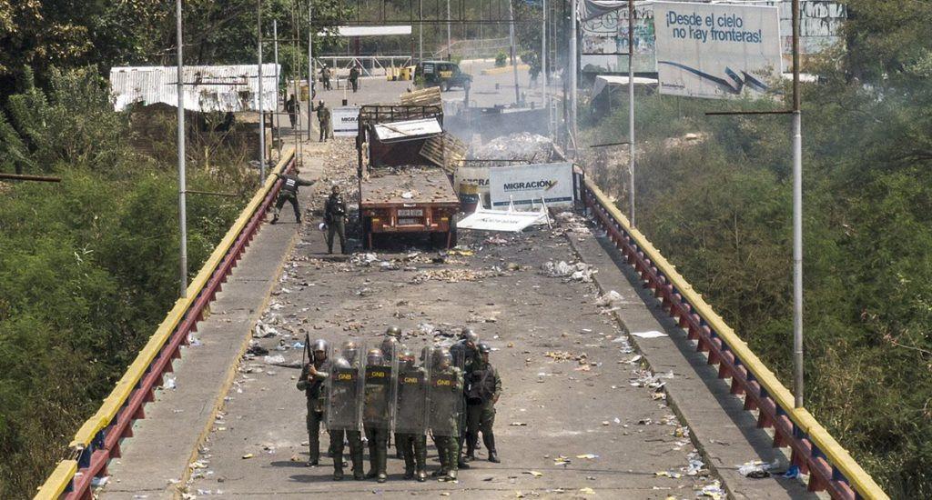 Frontera, Colombia, Venezuela