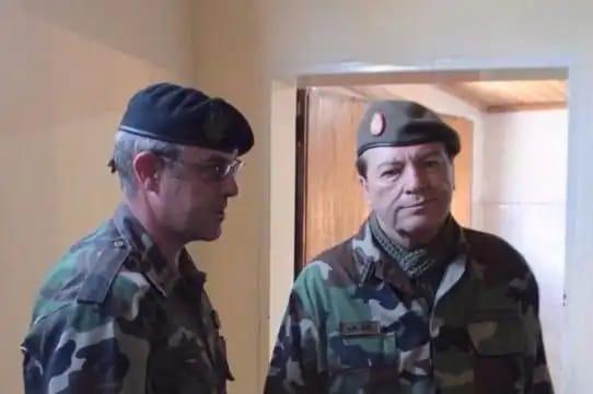 Claudio Gabriel Gallardo y César Milani