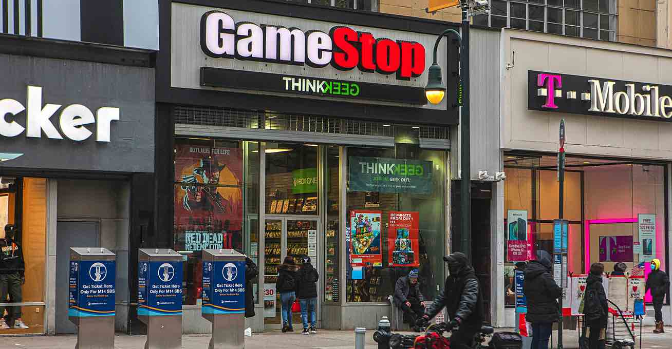 Wall Street, NASDAQ, GameStop