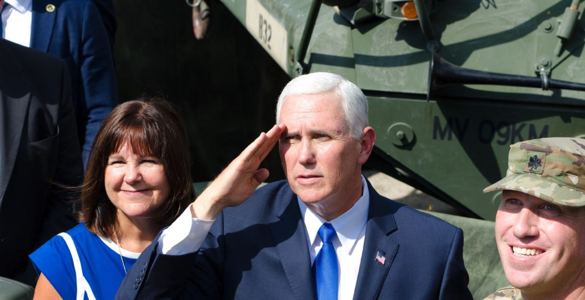 Mike Pence en Georgia