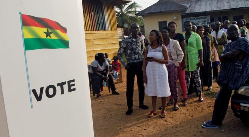 Ghana, elección presidencial