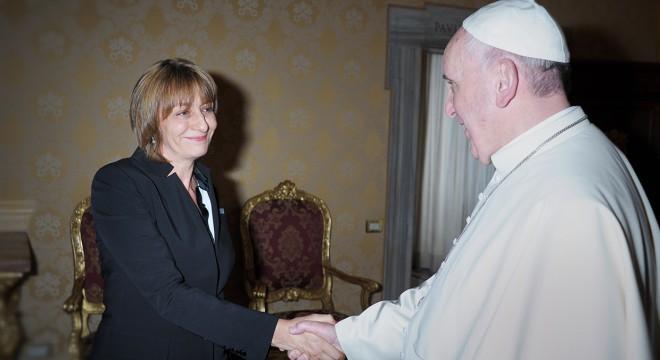 Gils Carbó y el Papa Francisco