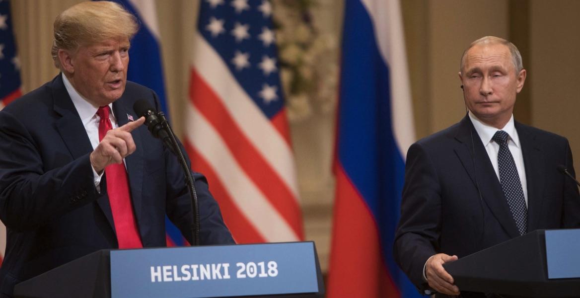 Trump, Putin, Helsinki 2018