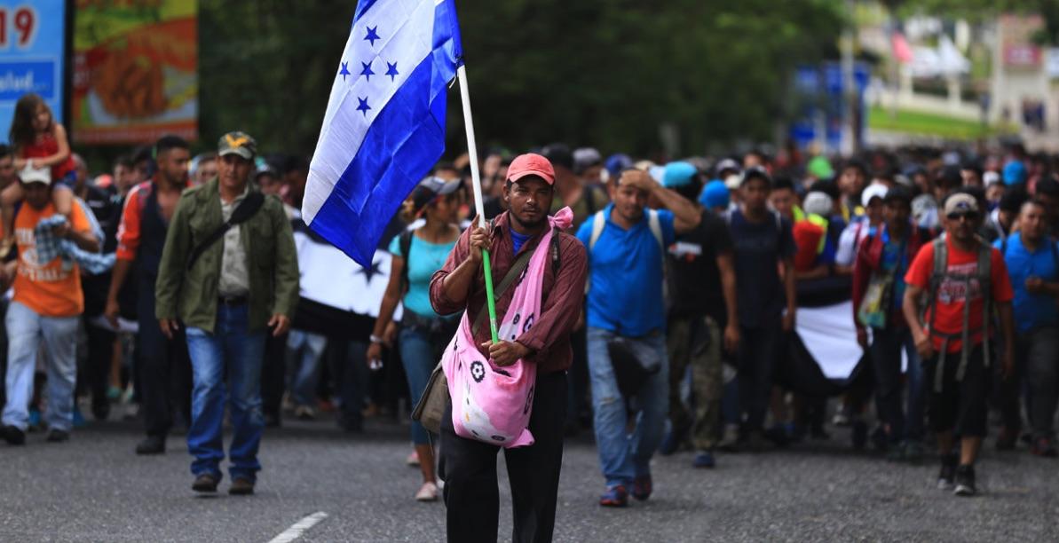 Migrantes, Caravana, Estados Unidos, Manuel Mel Zelaya, Bartolo Fuentes