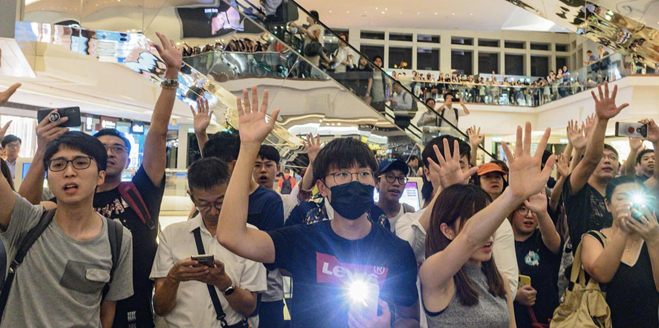 Joshua Wong, Hong Kong, Represión china