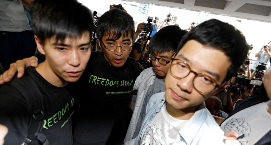 Hong Kong, prisioneros políticos