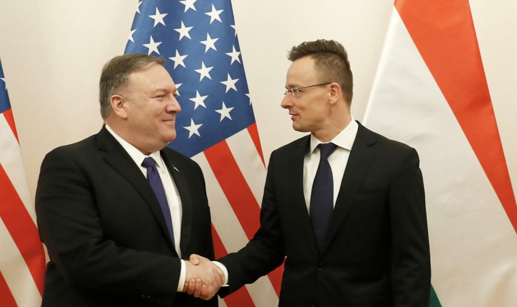 Hungría, Estados Unidos