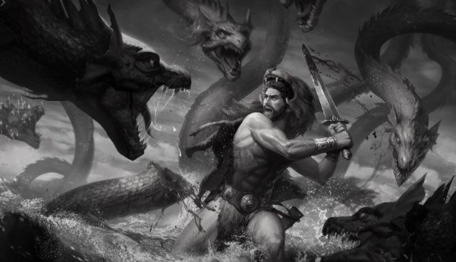 Hércules, Hidra
