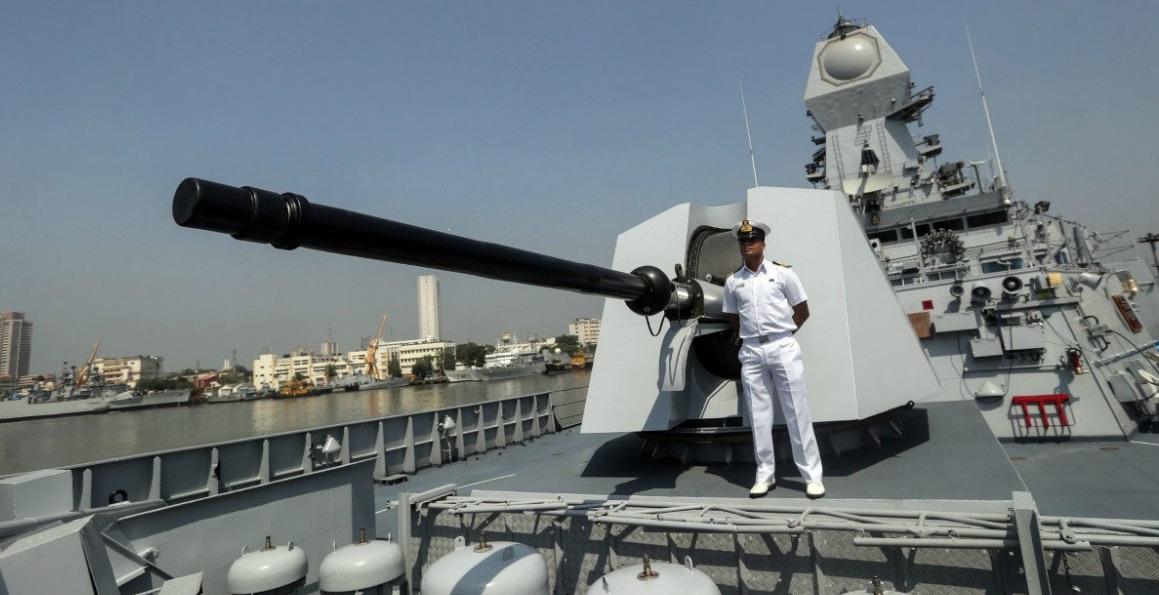 India, navío armada