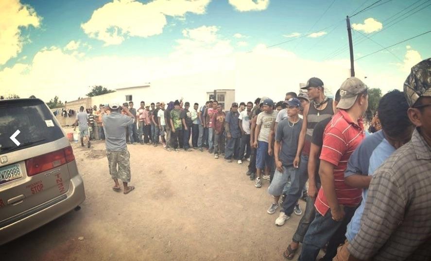 Inmigrantes ilegales de Pueblo Sin Fronteras, La Caravana de Migrantes